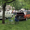 Car show: The Wabash Valley Corvette Club sponsored a fundraising event for Happiness Bag Saturday afternoon at Collett Park.