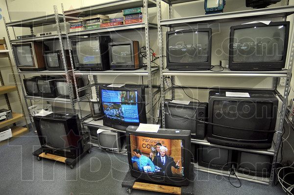 For sale: Some of the televisions brough to the facility for recycling were actually in good working condition and therefore put out for sale instead of recycling.