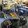 Smith tour: Don Smith opened the doors to he collection of racing vehicles and memorabilia Wednesday afternoon for former Action Track drivers.