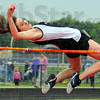 Highest: Northview's Tara Summers won the high jump with this leap of 5 feet even.