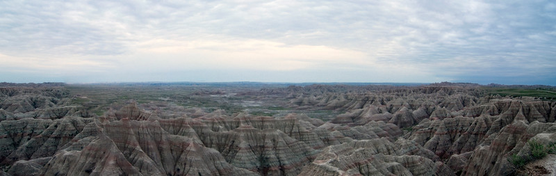 The South Dakota Badlands