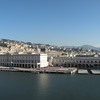 This is the view of Genova from our room's balcony.