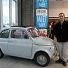Fiat - hehehee! - It's so tiny!  I want it!