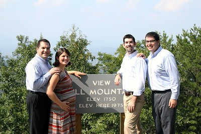 Craig (l), Abby, David, and Jordan (photo by Gary)