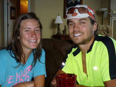 Trey and Malorie Woods visit Denver on their EPIC bike ride from Eugene OR to OKC