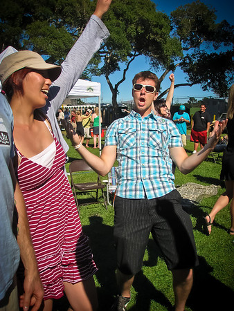 Dancing to Tom Petty