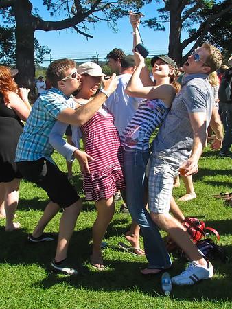 Group photo fun. Enough cameras out?