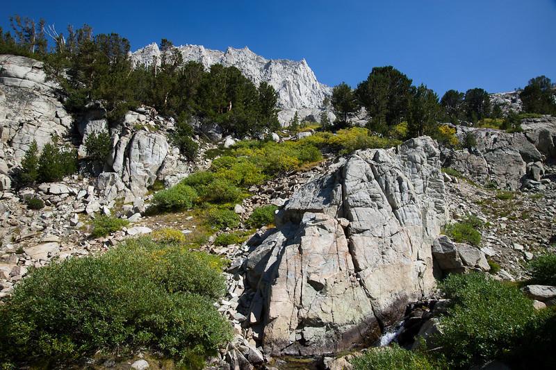 Drainage and Mt. Hurd