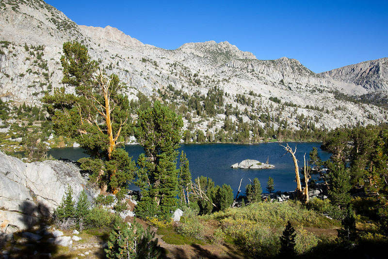 Above the lower Treasure Lake