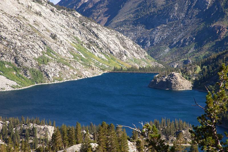 South Lake and its dam