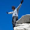 Ron on the summit