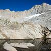 Granite reflection, near Sunset Lake