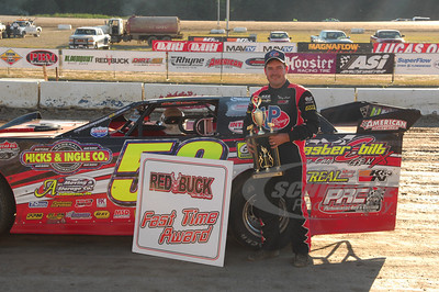 Ray Cook won the Red Buck Cigars Fast Time Award