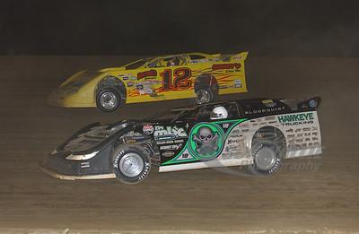 0 Scott Bloomquist and 12 Doug Dodd