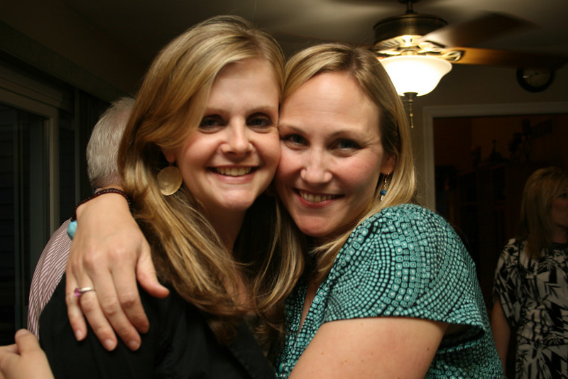 me and Sarah- so nice to see her!