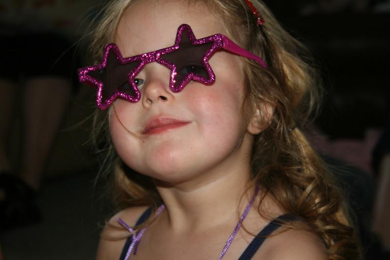 Sophie's turn for glasses
