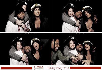 NYC 2010-10-14 Havas Media Holiday Party