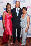 NEW YORK-JUNE 22: B Smith, John Starks,  Patrcia Bransford attend  The National Urban Technology Center's 2010 Gala Dinner on Tuesday, June 22, 2010 at The Mandarin Oriental Hotel, 80 Columbus Circle at 60th Street, New York City, NY (PHOTO CREDIT: ©Manhattan Society.com 2010 by Christopher London)