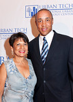 NEW YORK-JUNE 22: Patrcia Bransford and John Starks  attend  The National Urban Technology Center's 2010 Gala Dinner on Tuesday, June 22, 2010 at The Mandarin Oriental Hotel, 80 Columbus Circle at 60th Street, New York City, NY (PHOTO CREDIT: ©Manhattan Society.com 2010 by Christopher London)