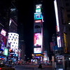 Times Square sehr frueh am Morgen...