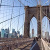 Brooklyn Bridge - the Twin Towers would have been to the left
