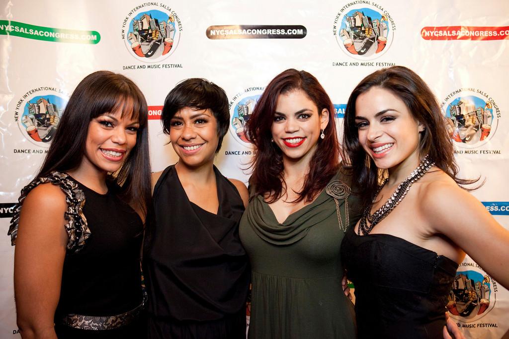 "The New York International Salsa Congress celebrates the ""Women of Salsa"" with Talia Castro-Pozo, Griselle Ponce, Eleanee Jimenez and Ana De Matos"