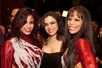 "Eleanee Jimenez, Ana De Matos, and Griselle Ponce attend The New York International Salsa Congress 10th Anniversary Party Celebrating the ""Women of Salsa"" in a Latina Magazine spread featuring Talia Castro-Pozo, Griselle Ponce, Eleanee Jimenez and Ana De Matos on Monday, November 22, 2010 at Taj Lounge in New York City   (PHOTO CREDIT: SALSEEK photographer Chasi Annexy)"