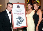 "Benjamin Prelvukaj (Owner, Benjamin Steakhouse),Cynthia Jorge (Marketing Director of Benjamin Steakhouse),  Molly Gonzalez (Operation First Response) attend New York City Marine Corps Council ""Third Annual 'Mess Night"" for the benefit of the Marine Corps Law Enforcement Foundation and the Marine Executive Association on Wednesday, June 30, 2010 at New York Athletic Club,180 Central Park South, New York City (Photos by Christopher London ©2010 ManhattanSociety.com)"