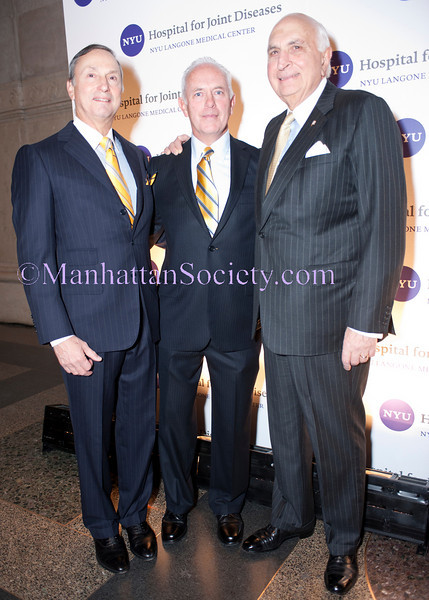 NEW YORK-NOVEMBER 9:Robert I. Grossman, MD, James P. Riley, Ken Langone attend NYU Langone Medical Center's Hospital for Joint Disases (HJD) FOUNDER'S GALA on Tuesday, November 9, 2010 at American Museum of Natural History, Central Park West at 79th Street, Manhattan. (PHOTO CREDIT: ©Manhattan Society.com 2010 by Christopher London)