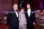 NEW YORK-APRIL 26: Ken Langone, Helen Kimmel, Dr. Robert I. Grossman, Dean and CEO of NYU Langone Medical Center attend  NYU Langone Medical Center 2010 Violet Ball honoring Helen L. Kimmel on Monday, April 26, 2010 at Cipriani Wall Street, 55 Wall Street, New York City, NY (PHOTO CREDIT: ©Manhattan Society.com 2010 by Karen Zieff)