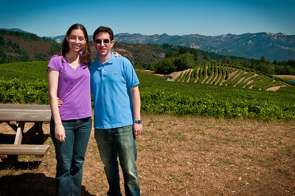 Jaime and Marcus at Pride winery