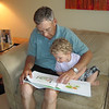 "Alex is reading to ""Grandpa Doug"".........."