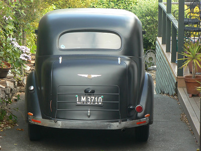 Kiwies must love their old cars.