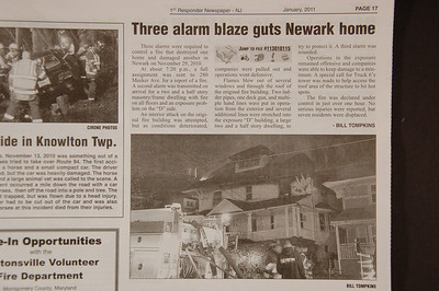 1st Responder Newspaper - January 2011