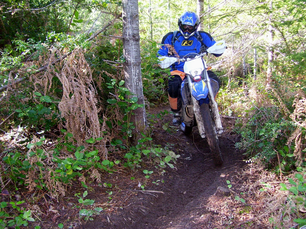 Gabriele got his wish to ride the Chernobyl Trail