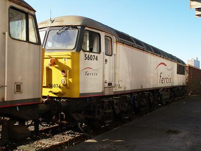 Stored 56074 Crewe Diesel Depot.