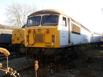Stored 56065 Crewe Diesel Depot.