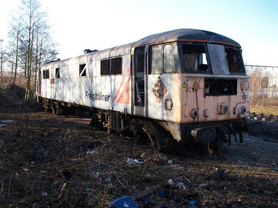 Withdrawn 86633 out the back of LNWR Crewe.