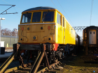 86424 outside LNWR Crewe.