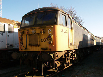 Stored 56083 Crewe Diesel Depot.