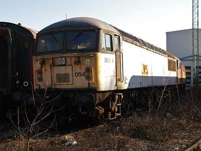 Stored 56054 Crewe Diesel Depot.