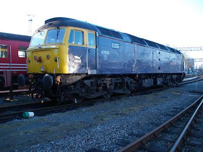 47839 on Crewe Holding Sidings.