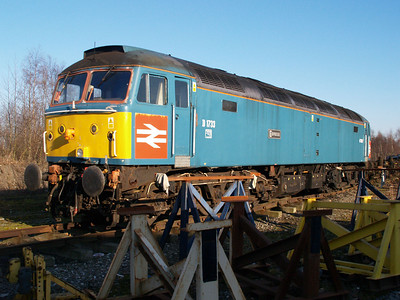 D1733/47853 outside LNWR Crewe.