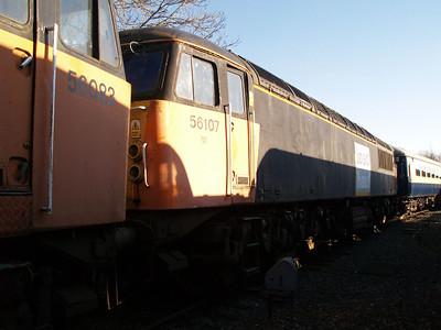 Stored 56107 Crewe Diesel Depot.