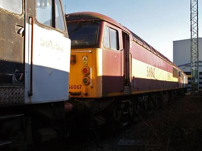 Stored 56067 Crewe Diesel Depot.