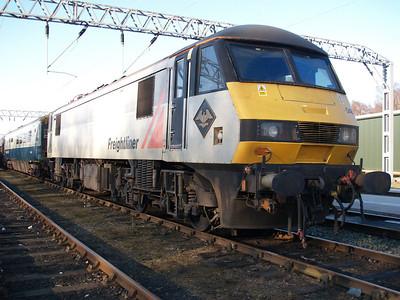 90048 outside LNWR Crewe.