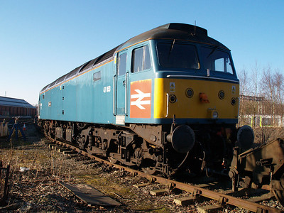 47853 outside LNWR Crewe.