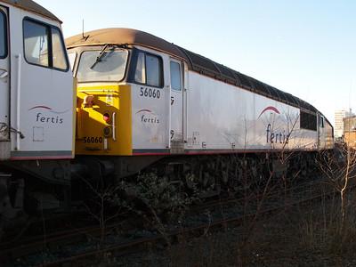 Stored 56060 Crewe Diesel Depot.