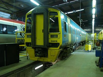 158818 inside LNWR Crewe.