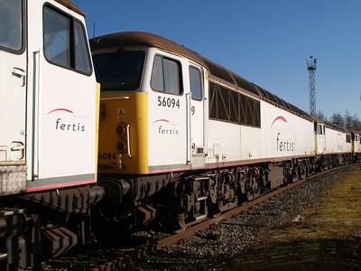Stored 56094 Crewe Diesel Depot.